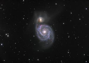 M51 Virvelgalaxen - Lars H ca13a1b7412a1